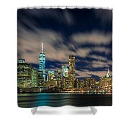 Downtown From Brooklyn Shower Curtain