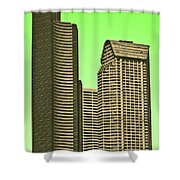Downtown Hi-rise Shower Curtain