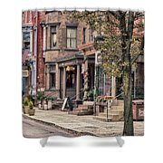 Downtown Jim Thorpe, Pa. Shower Curtain
