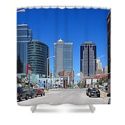 Downtown Kansas City Shower Curtain