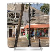 Downtown Key West Shower Curtain