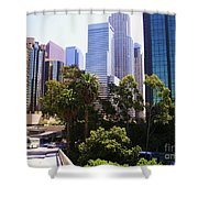 Downtown Los Angeles. 6th Street Shower Curtain