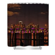 Downtown Miami Shower Curtain