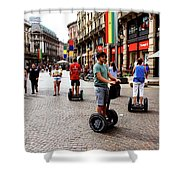 Downtown Milan Shower Curtain
