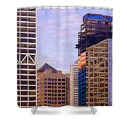 Downtown Milwaukee - 2 Shower Curtain