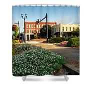 Downtown Murphy North Carolina Shower Curtain