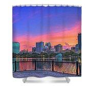 Downtown Orlando Florida  Shower Curtain
