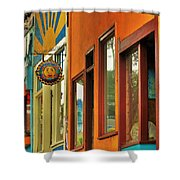 downtown Point Arena Shower Curtain