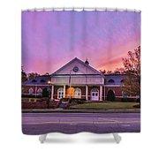 Downtown Rockingham Shower Curtain