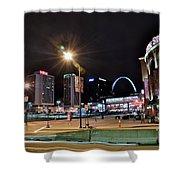 Downtown Saint Louis Shower Curtain