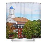 Downtown Salem Ma Shower Curtain