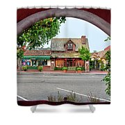 Downtown Solvang Shower Curtain