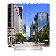 Downtown Tampa Fl, Usa Shower Curtain