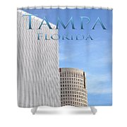 Downtown Tampa Shower Curtain