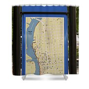 Downtown Wilmington Shower Curtain