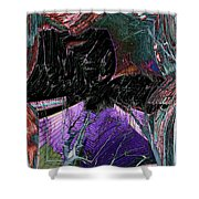 Downtown Windy Shower Curtain