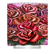 Dozen Roses Shower Curtain