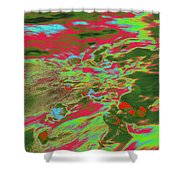 Dp Stone Impressions 12 Shower Curtain