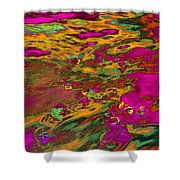 Dp Stone Impressions 14 Shower Curtain