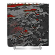 Dp Stone Impressions 19 Shower Curtain