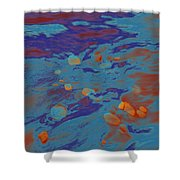 Dp Stone Impressions 8 Shower Curtain
