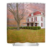 Dr Claude T. Old House Shower Curtain