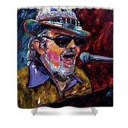 Dr. John Portrait Shower Curtain