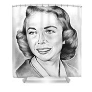 Dr. Joyce Brothers Shower Curtain