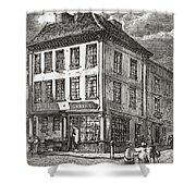 Dr. Samuel Johnson S Birthplace In Shower Curtain