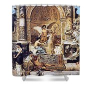 Draft Curtain Theatre In Krakow 1894 2 Henryk Semiradsky Shower Curtain
