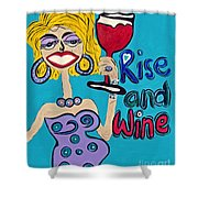 Drag Queen's Coffee  Shower Curtain