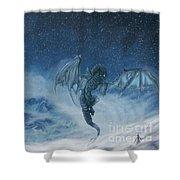 Dragon Born. Shower Curtain