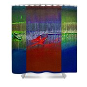 Dragon Coast Shower Curtain