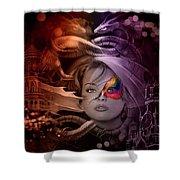 Dragon Dreams Shower Curtain