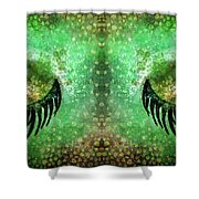 Dragon Eyes At Dawn Shower Curtain