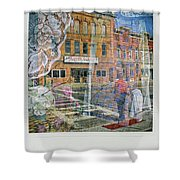 Dragon Garden Shower Curtain