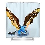 Dragon Hatching Shower Curtain