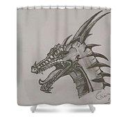 Dragon O King Shower Curtain