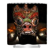 Dragon Of Nepal Shower Curtain