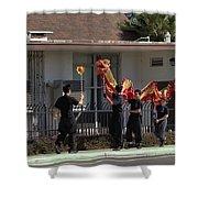 Dragon Parade Camarillo Year Of The Dog 2018 Shower Curtain