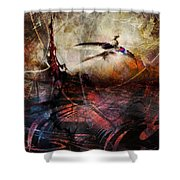 Dragon Realms Vii Shower Curtain