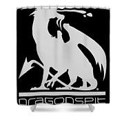 Dragon Spit Studios Logo Shower Curtain