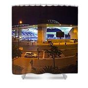 Dragon Stadium Shower Curtain