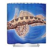 Dragonet Fish Shower Curtain