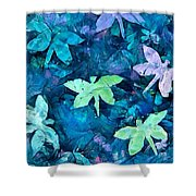 Dragonfly Blues Shower Curtain