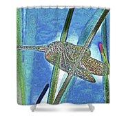 dragonfly Interior Shower Curtain
