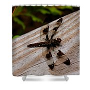Dragonfly Spots Shower Curtain