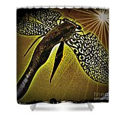 Dragonfly V Shower Curtain