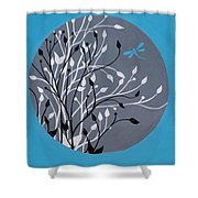 Dragonfly's Delight Shower Curtain
