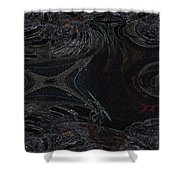 Dragonfly's Lair Shower Curtain